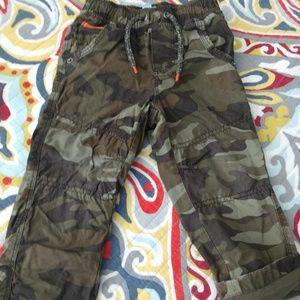 Toddler Boy camo pants